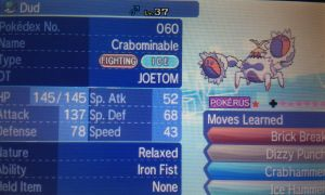 Shiny Crabominable