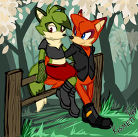Sam and Rocket by Kismeti