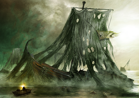 The Green Sea by Khorghil