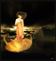 'Goddess of Fire and Flora' by Energetic-Innovation