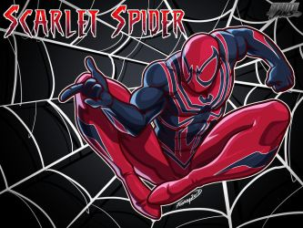 Skratchjams Scarlet Spider 1 by FooRay