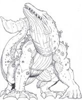 Contest Entry: Gojira by Deadpoolrus