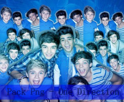 Pack Png - One Direction by JessieBelen