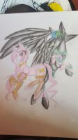 Pony Viper and Vynal by VynalLine
