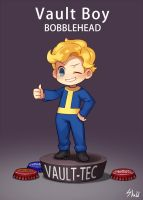 Fallout vault boy by fcghost