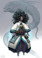 Borea Final Character Design by AmandaKieferArt