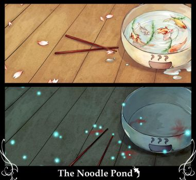 The Noodle Pond by Unodu
