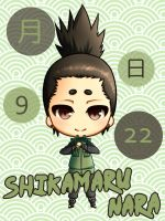 09/22 - Shikamaru Nara by SeigyokuPrincess