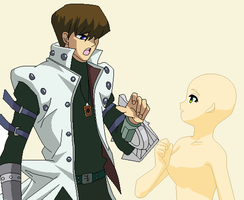 Base - Kaiba and Female Base by Butterfly-Bases
