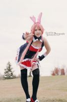 Kuro Usagi Cosplay 3 by Sugar-Senshi
