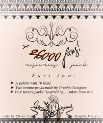 26000 fans Resources Pack pt.2 | Graphic Designer. by taxitoheaven