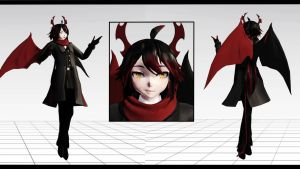 (MMD The Gray Garden + DL) Ivlis by Morionchik