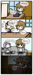 4Koma - When That One Song Got Stuck In Your Head by KubotaKyosuke