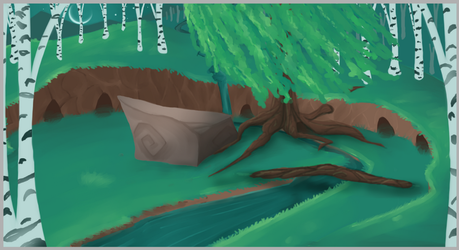 Map-of-the-Stars Camp WIP! by Flashpelt1