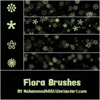 Flora Brushes by mohammed6651