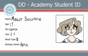 Margot Bellerose - Student ID by phina-rox