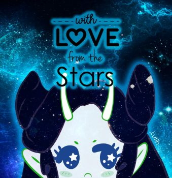 with love from the stars by Lutih