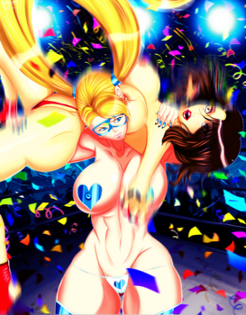 Rainbow Mika: DA CHAMP IS HERE! +18 [2K15 Update] by JassyCoCo