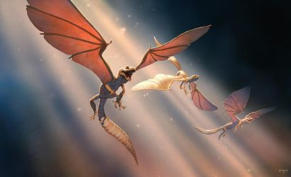 Gecko-Dragons by ATArts