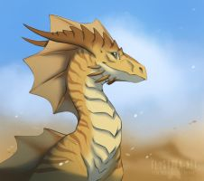 Back in the Desert! by FlyQueen