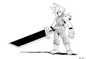 Cloud Strife by MoeAlmighty