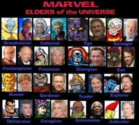 MARVEL:  Elders of the Universe by Lordwormm
