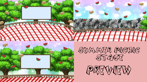 Summer Picnic Stage Bundle by TheCherryMonsterLu