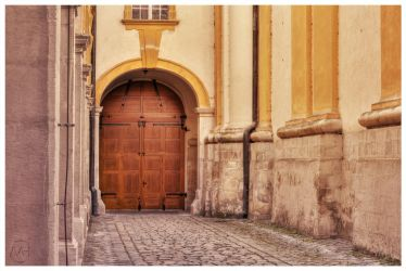 You never know ... whats behind the door ... by hauerli