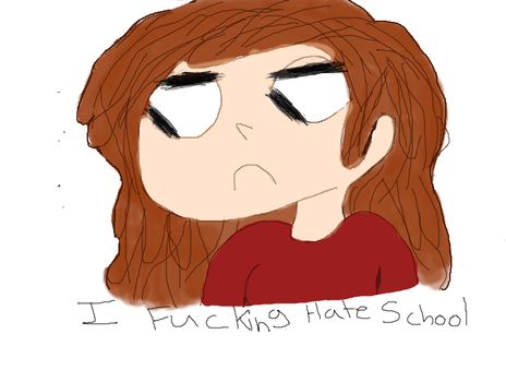 i hate school by zorosky