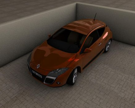 Renault Megane Coupe 2008 by PilotF1