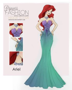 Princess Fashion Collection - Ariel by HigSousa