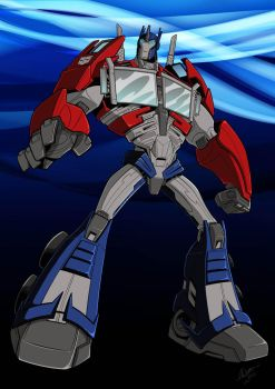 TFP Optimus colors by BDixonarts