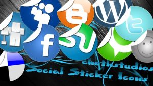 Social icon pack by cheth