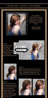 Glowing hair tutorial by StarsColdNight