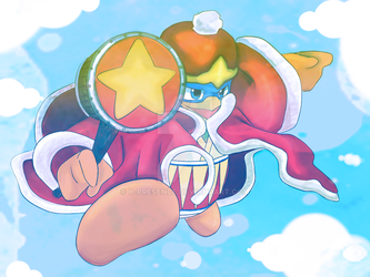 King Dedede by H-Presence