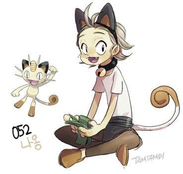 052.Meowth by tamtamdi