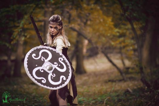 Shieldmaiden by LucreciaMortishia
