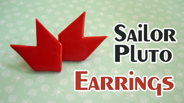 Sailor Pluto Earrings by Leviana