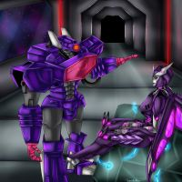 AT : Deltawave and Shockwave by VendettaPrimus