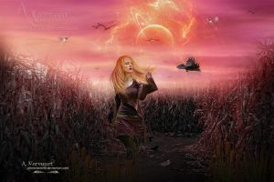 Lost in the Fields by annemaria48
