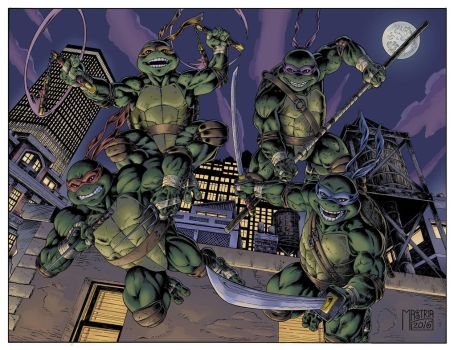 Ninjaturtles by AntonioMastria