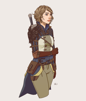 Grey Warden Ezra Cousland by Ezra-sama