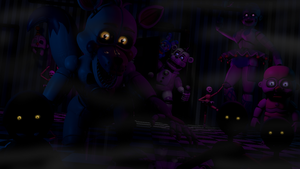 (FNAF/C4D) ANOTHER NORMAL NIGHT IN CIRCUS BABY by JavierCordova31