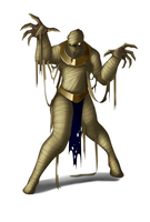 Mummy Warrior by Lordstevie