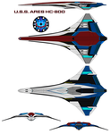 U.S.S. Ares HC-800 by bagera3005