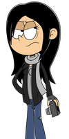 Jessica Jones (The Loud House Style) by eagc7