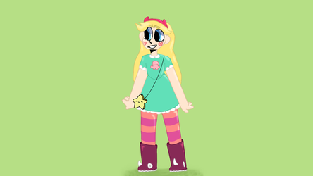 Star Butterfly by shi-BAAH