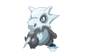Cubone Type Swap by rey-menn