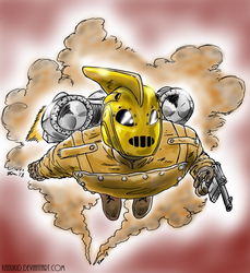 The Rocketeer by KaijuKid