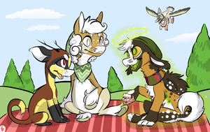 Spring Picnic by CJPossum
